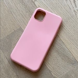 Accessories - Pink Iphone 11 Case Silicone 📱